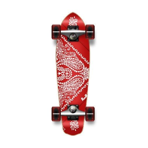 Yocaher Micro Cruiser Complete - Bandana Red