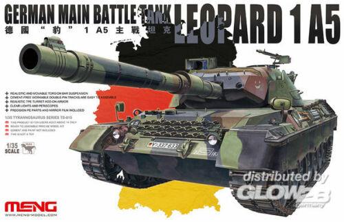 MENG Model TS-015 Plastikmodellbau German main Battle Tank Leopard 1 A5