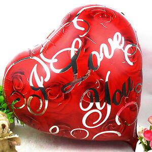 Sacchetto regalo a forma di cuore con scrittaI Love You confezione da 2