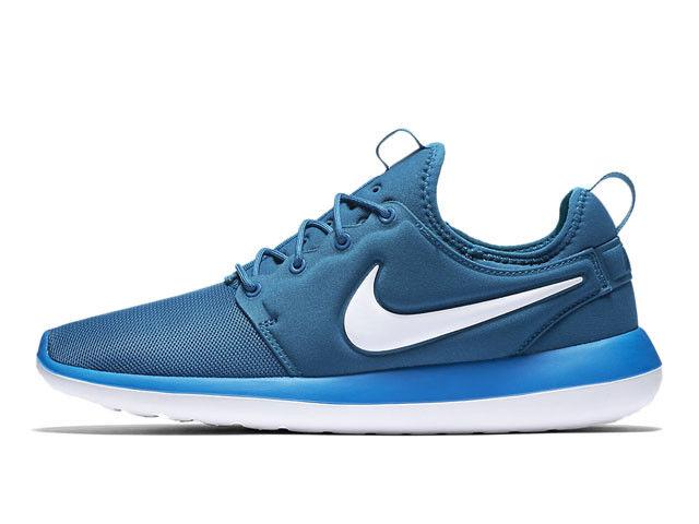 Nike roshe e due 844656 402 (bianco e roshe blu uomini 'scarpe taglia 11 1b7b00