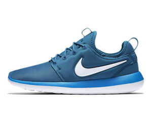 15fdbb884a7f Nike Roshe Two 844656 402 Industrial Blue White Men s Running ...