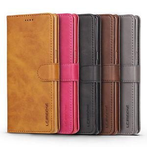 PU-Cuir-Flip-Mat-Housse-Etui-Portefeuille-Support-avec-Fente-Pour-iPhone-Samsung