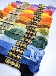DMC-Threads-Skeins-Cross-Stitch-Floss-Pick-Your-Own-Colours-FREE-P-amp-P