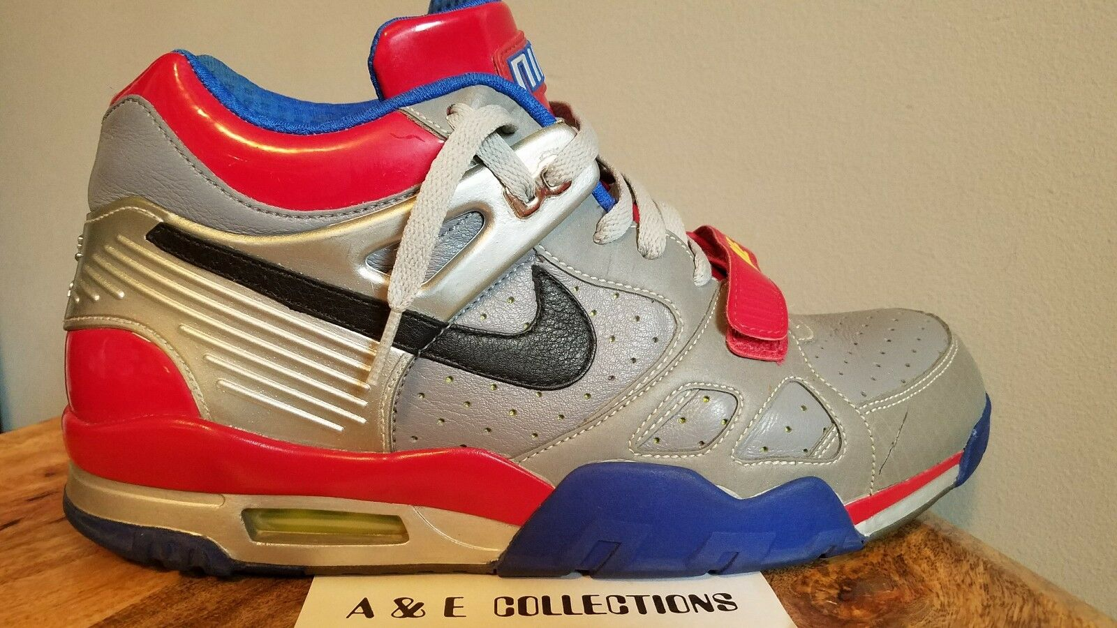 NIKE AIR TRAINER III 3 PREMIUM  Transformers Pack  Optimus Prime  SIZE 12 max sb