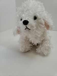 Ganz-Webkinz-Bichon-Frise-Plush-Dog-Puppy-Stuffed-Animal-White-no-Code-SWEET