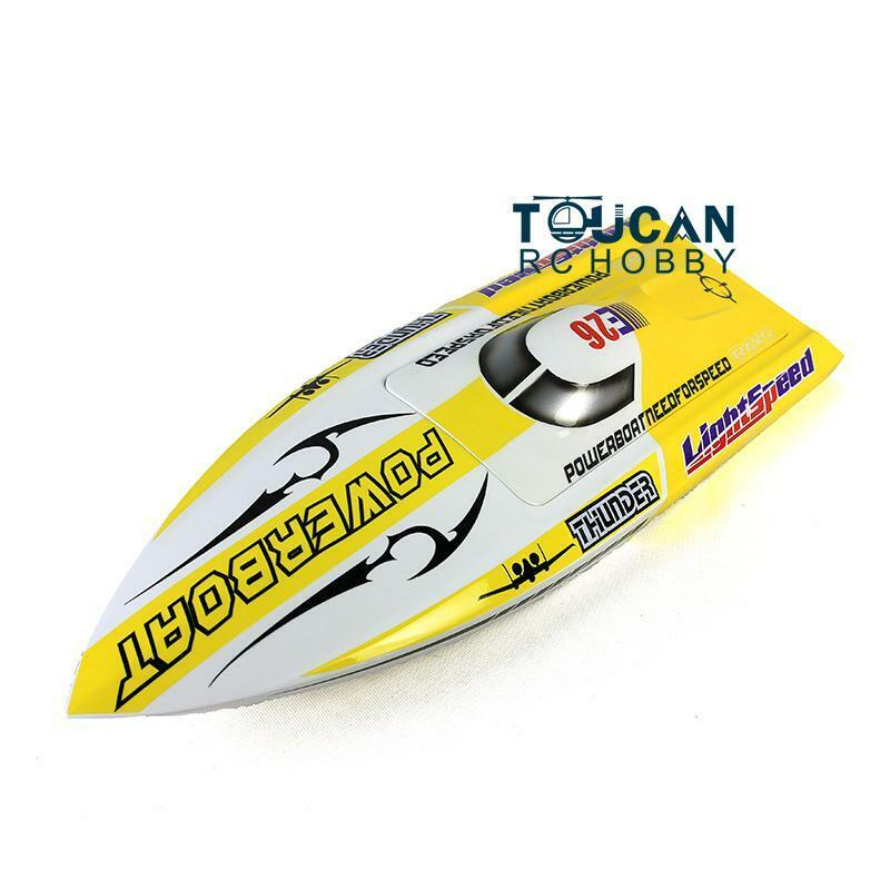 DT RC Electric Boat Hull E26 Coloreeosso  KIT Only for Advanced Player Racing  fino al 42% di sconto