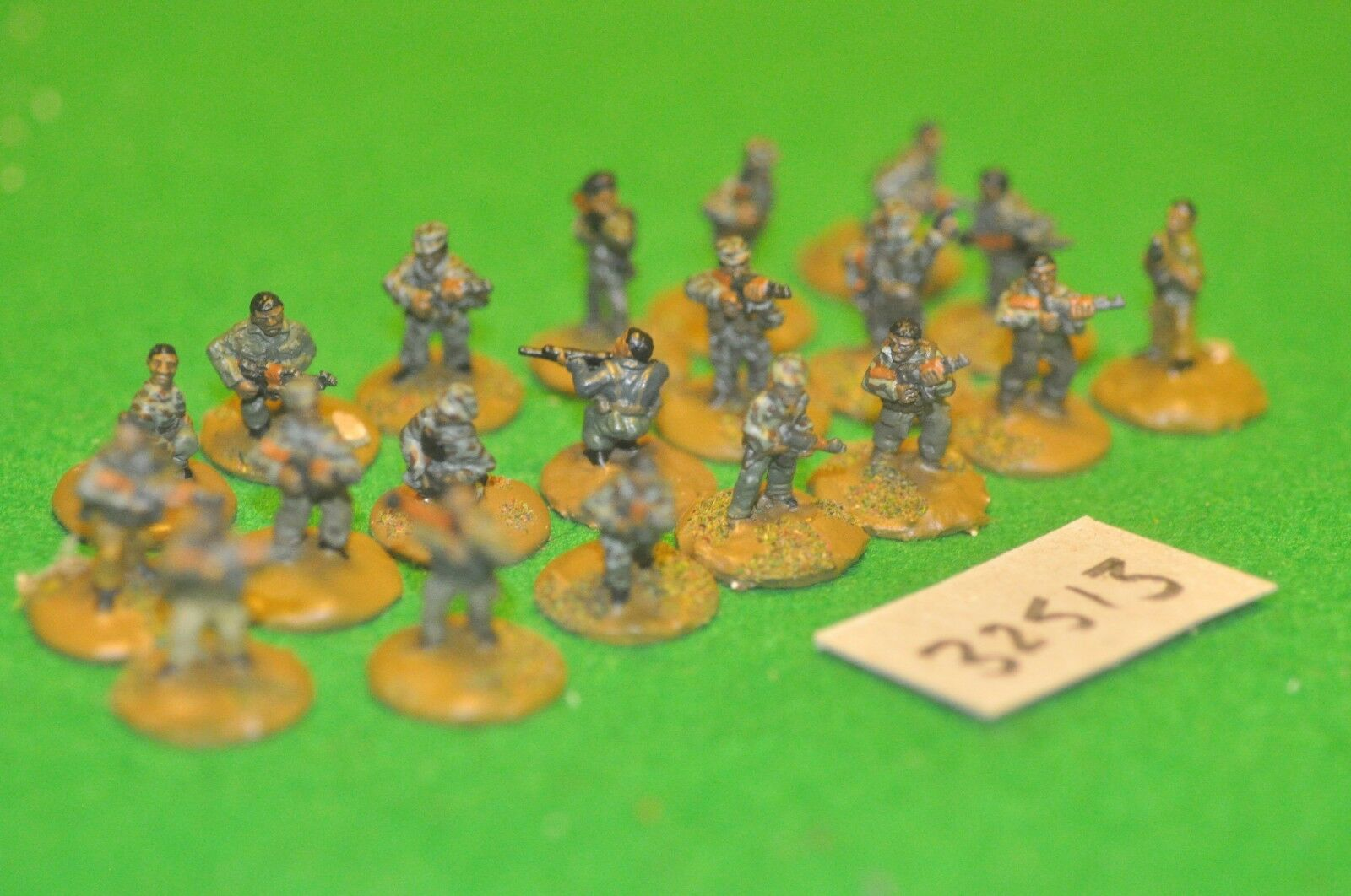 20mm modern   africa skirmish - skirmish 20 figures - inf (32513)