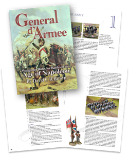 GENERAL D'ARMEE - NAPOLEONIC WARGAMES RULES- SENT FIRST CLASS