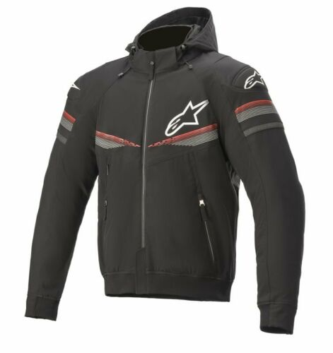 Casual look sports hoodie Alpinestars SEKTOR V2 Tech Black // Red 1303