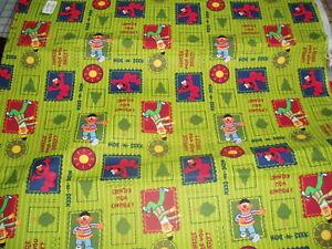 Bert Ernie Elmo Sesame Street Baby Toddler Sheet Set Hide
