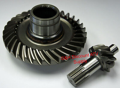 Rear Differential Ring /& Pinion Gear Set Yamaha YFM 350 NON IRS Grizzly /& Bruin