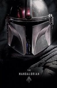 "Collector/'s Poster DISNEY STAR WARS Textless The Mandalorian Poster 11"" X 17"""