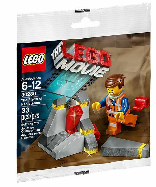 LEGO® THE LEGO® MOVIE™ 30280 Widerstand NEU_The Piece of Resistance NEW MISB