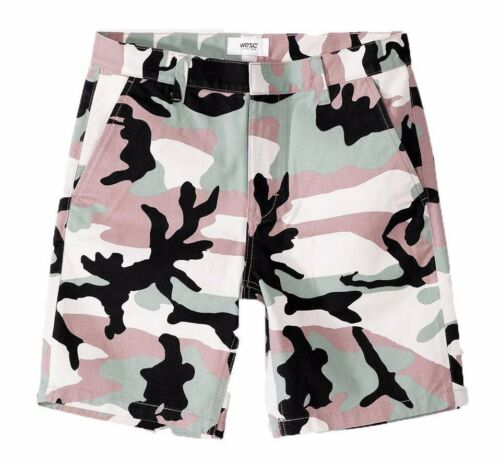 Rai Mens Print ispirati Army Misty Rose Wesc Camo militari Slim Woven Pantaloncini TCdnqwZxA