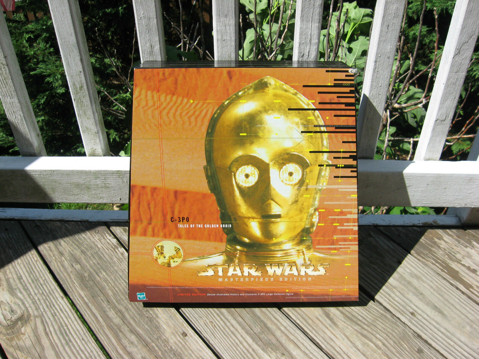 Star Wars Masterpiece Edition C-3PO  Tales of the Golden Droid  Figure & Book