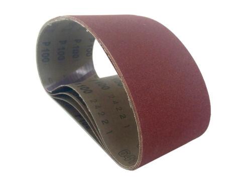 8 Pack Sanding Belts 3 X 18 German Aluminum Oxide Cloth Sander Belts 80 Grit