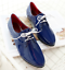 Womens-Lace-Up-Flats-Oxfords-Shoes-Pointed-Toe-Patent-Leather-Ladies-Plus-Size thumbnail 12