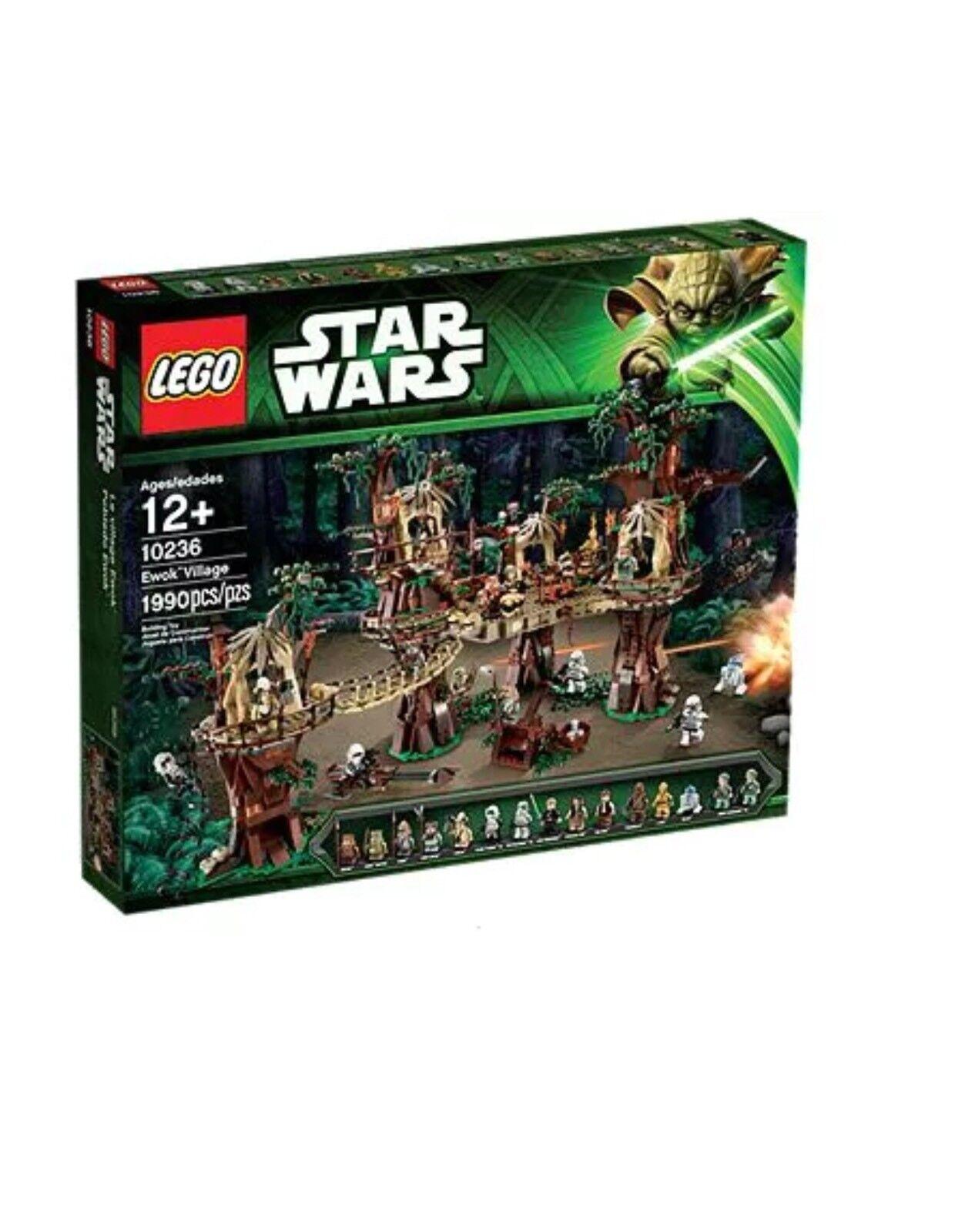 LEGO Star Wars 10236 Ewok Village New Sealed Retirot