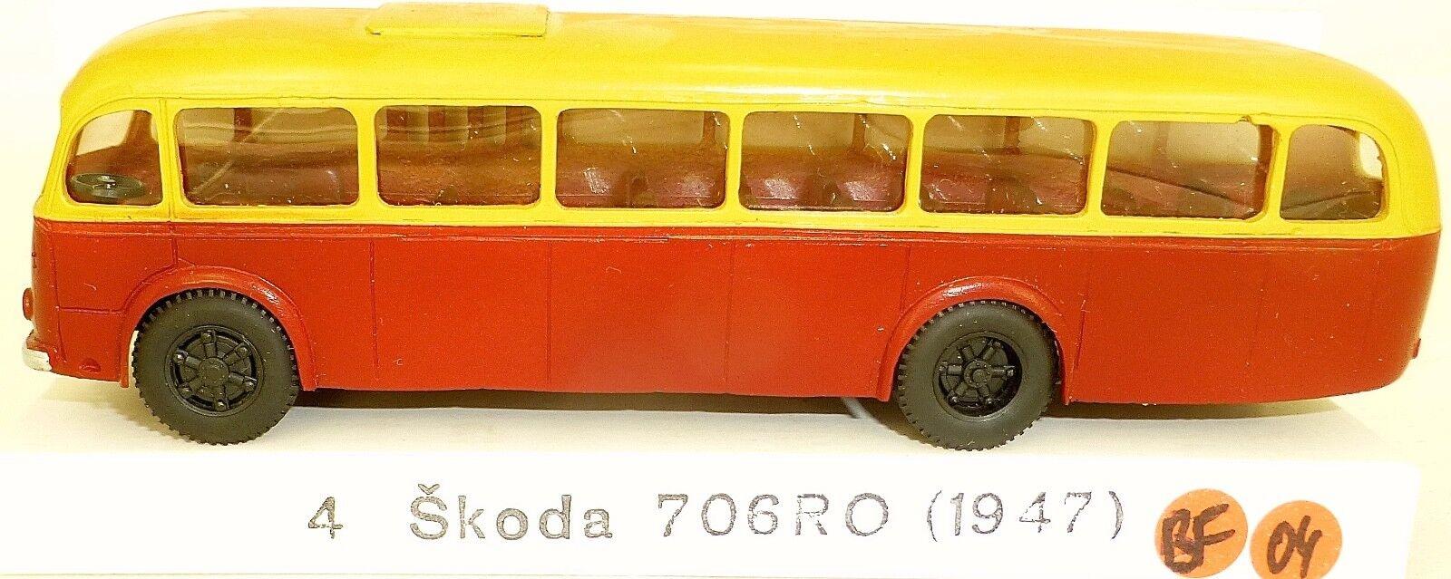 SKODA 706 RD Bus v&v h0 1 87 bf04 å