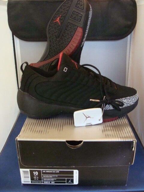 Nike Jordan Retro 19 bajo bonito black/siver/varsity Rojo Tamaño 10 bonito bajo ligeramente desgastado e92dff