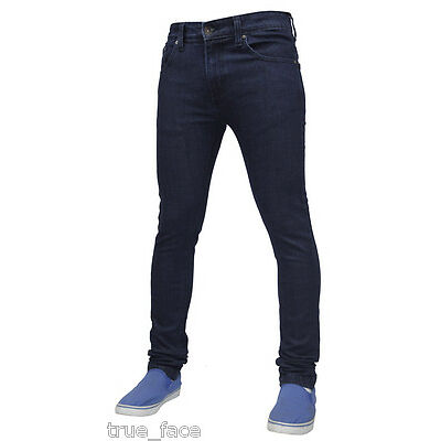 Mens True Face Super Skinny Slim Fit  Stretchable Jeans Denim Cotton Trousers