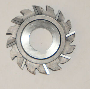 Niagra Staggered Tooth Side Cutting Milling Cutter 3 X 1//2