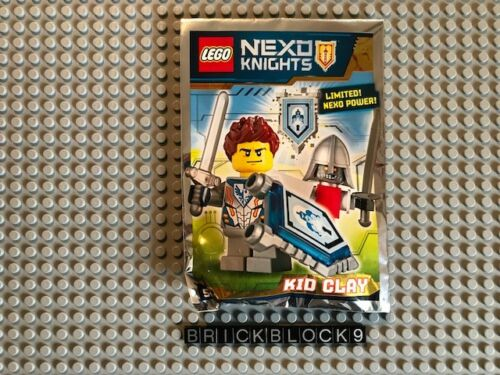 Foil Pack 271608 NEXO KNIGHTS Kid Clay NEW LEGO Polybag