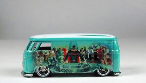 Hot-Wheels-DC-Comics-Justice-League-Volkswagen-T1-Panel-Bus-No-Package