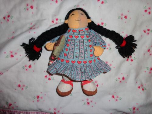 "Mama Do You Love Me Cloth Doll Eskimo 1983 Determined Productions 9/"" w Dress"