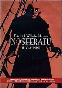 Nosferatu Il vampiro (1922) DVD Nuovo Sigillato Friedrich Wilhelm Murnau Dracula