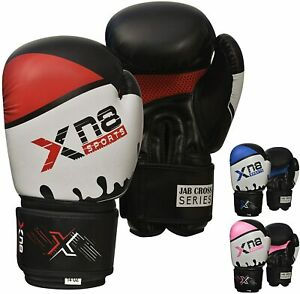 Kinder Boxhandschuhe MMA Muay Thai Sparring Sport Training Vorräte 1 Paar