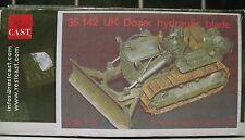 1/35 Resicast UK Dozer Hydraulic Blade  Bulldozer Resin Kit
