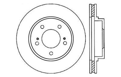 Disc Brake Rotor-C-TEK Standard Front Centric 121.44088