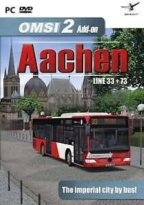 Details about OMSI 2 - Add-On Aachen (PC DVD) BRAND NEW SEALED EXPANSION