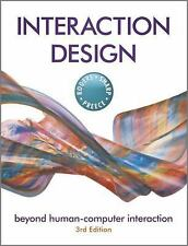 Interaction Design by Yvonne Rogers, Helen Sharp, Jenny Preece