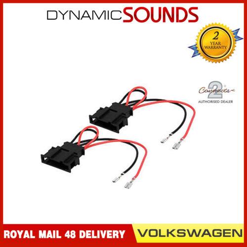 VW Volkswagen Transporter T5//T5.1 Car Speaker Adaptor Wire Plug Lead Connectors
