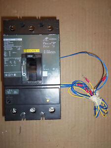 Square D KAL 3 pole 225 amp 600v KAL36225 Circuit Breaker GREY LABEL