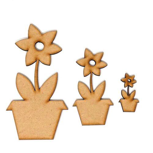 Flower craft shapes craft shape Flower in a pot Gardening craft ideas flower