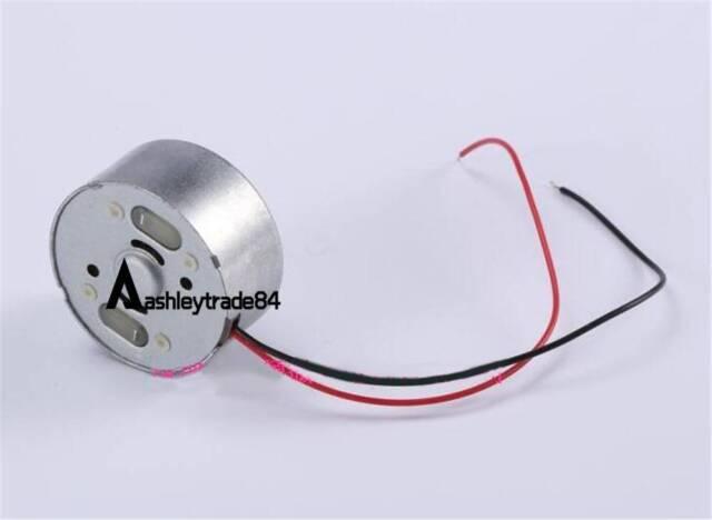 DC 1.5V 3V 5V 6V 9400RPM RF-300C-12340 Micro Solar Power Motor Round Toy Motor
