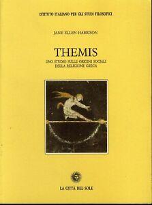 HARRISON Themis. Uno studio sulle origini sociali della religione greca