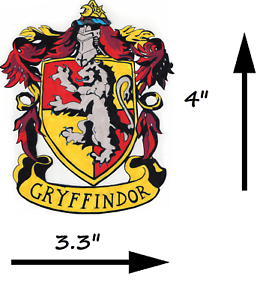 Birthday cake edible logo image printed topper harry - Gryffindor crest high resolution ...