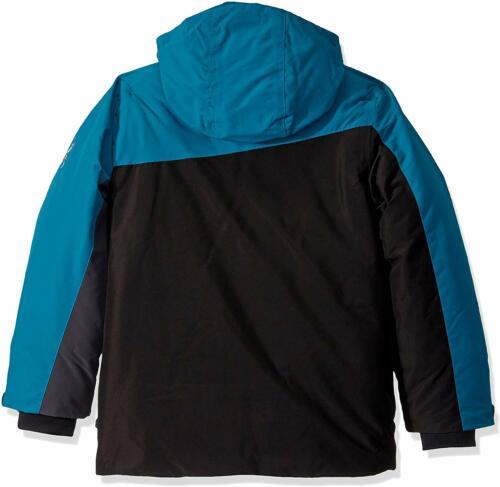 Details about  /Spyder Kid/'s Little Boys Asymmetrical Color Block Full Zip Coat