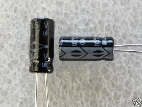 25 condensateurs 4,7uF 35V 105°C Multicomp