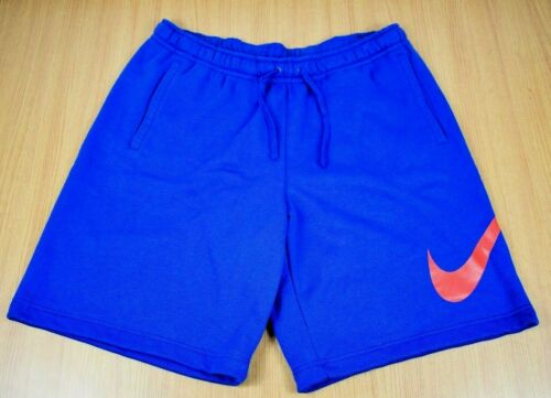 Men's Nike Big Swoosh Sweat Casual Shorts 2Xl Cott