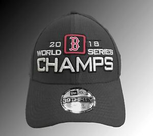 e008c5a0b3938 Red Sox 2018 World Series Champions Hat 39 Thirty Flex Fit One Size ...
