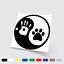 Adesivi in vinile Wall Stickers Prespaziati Tao cane uomo love Auto Notebook