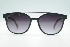 Braunwarth-Category-3-51-18-Grey-Oval-Sunglasses-New