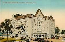 Canada, Alta, Edmonton, Grand Trunk Pacific New Hotel Early Postcard