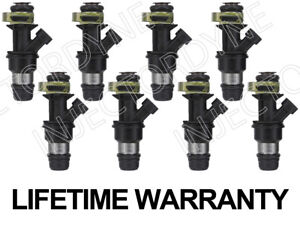Set of 8 Fuel Injectors For GMC Chevrolet Cadillac 4.8L 5.3L 6.0L 17114502