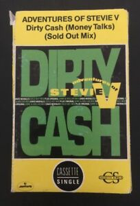 ADVENTURES-OF-STEVIE-V-039-DIRTY-CASH-MONEY-TALKS-039-Cassingle-Cassette-Tape-Album